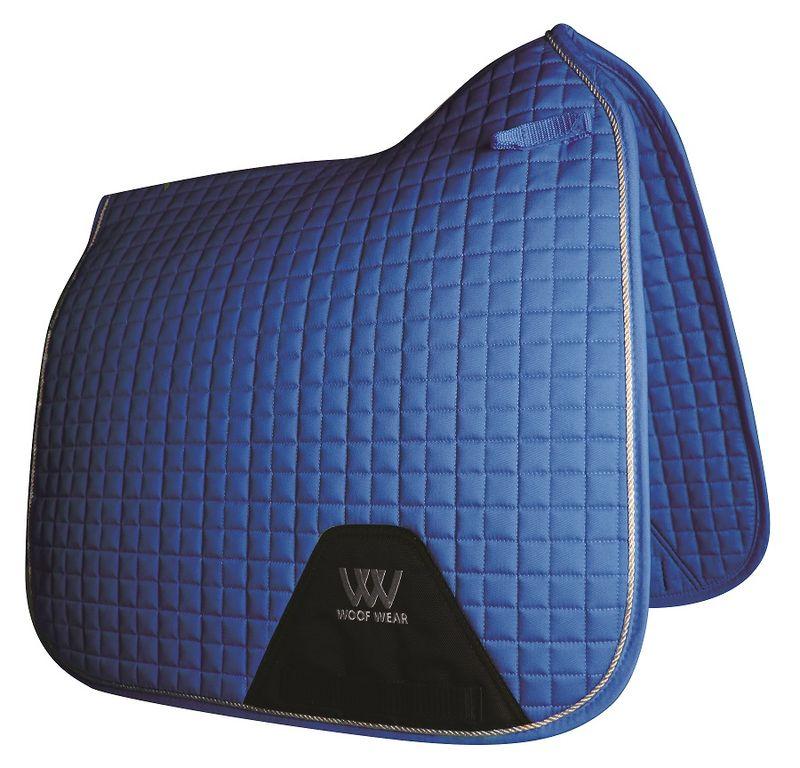 Woof-Wear-Colour-Fusion-Dressage-Saddle-Pad---Electric-Blue-52047