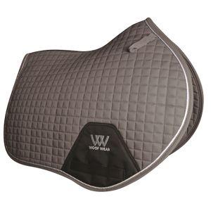 Woof Wear Colour Fusion C/C Saddle Pad - Brushed Steel