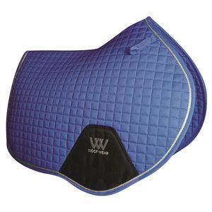 Woof Wear Colour Fusion C/C Saddle Pad - Electric Blue