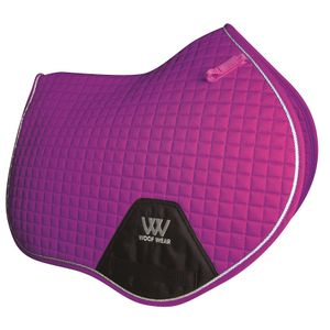 Woof Wear Colour Fusion C/C Saddle Pad - Ultra Violet