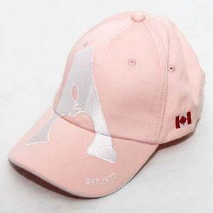 Apple Saddlery Ball Cap - Light Pink/White