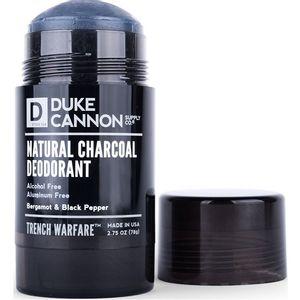 Duke Cannon Trench Warfare Natural Charcoal Deodorant - Bergamot & Black Pepper