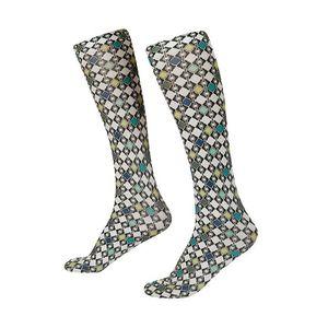 Kerrits Women's Riding Boot Sock - Emerald Deco Bits