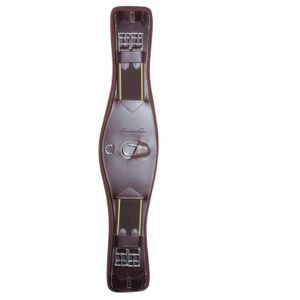 Professional's Choice VenTech Monoflap Leather Girth - Brown