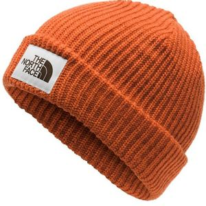The North Face Unisex Salty Dog Beanie - Papaya Orange/Picante Red