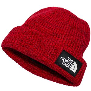 The North Face Unisex Salty Dog Beanie - Red/Black