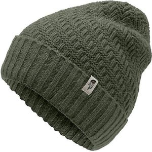 The North Face Women's Reyka Beanie - New Taupe Green Heather