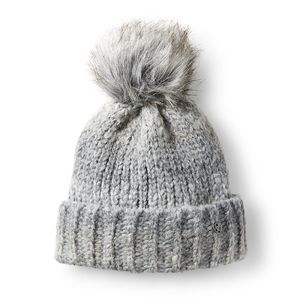 Ariat Space PomPom Beanie - Full Moon Grey