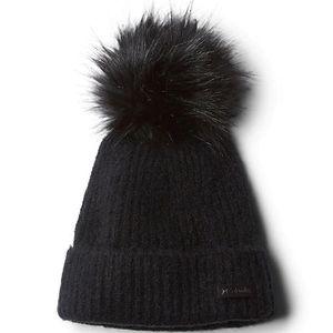 Columbia Winter Blur Pom Pom Beanie - Black