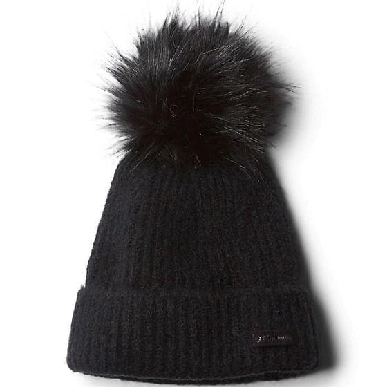 Columbia-Winter-Blur-Pom-Pom-Beanie---Black-237898