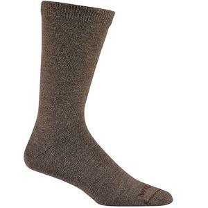 Wigwam Men's Silken Socks - Taupe/Brown Heather