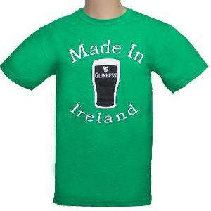 Guinness Men's Made In Ireland T-Shirt - Green