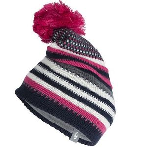 Icebreaker Chateau Hat - Pink/Admiral/Snow