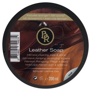 BR Leather Soap