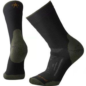 Smartwool Men's PhD® Outdoor Heavy Hiking Crew Socks - Black