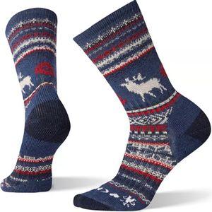 Smartwool Men's Premium CHUP Polar View Crew Socks - Alpine Blue