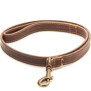 Filson Bridle Leather Dog Leash - Brown
