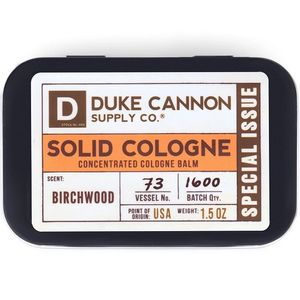 Duke Cannon Solid Cologne - Birchwood (Special Issue)
