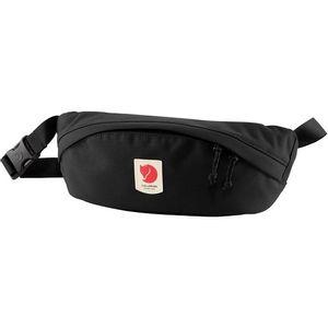 Fjallraven Ulvo Hip Pack, Medium - Black