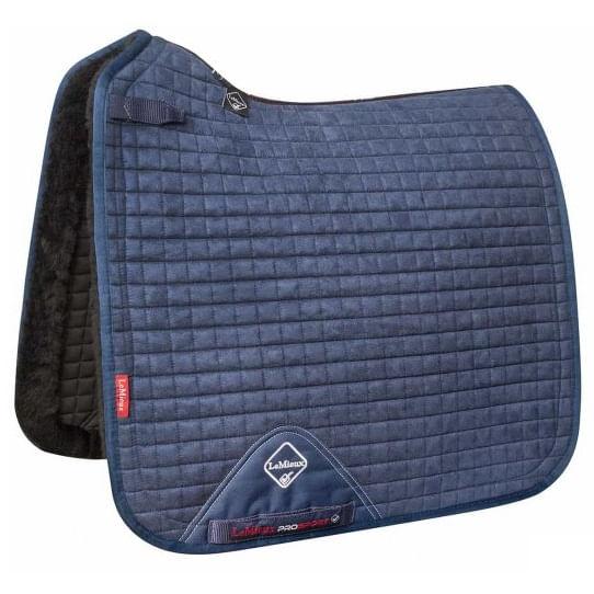 LeMieux-Merino--Sensitive-Skin-Dressage-Square-Pad---Navy-52146