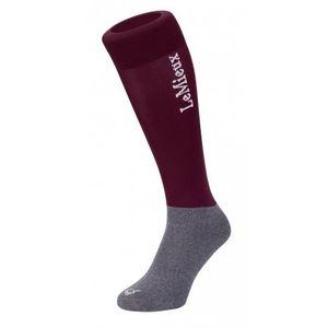 LeMieux Competition Sock - Burgundy