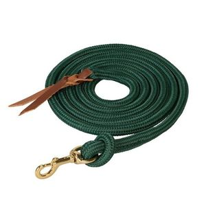 Weaver Poly Cowboy Lead 10' with Snap - Hunter Green