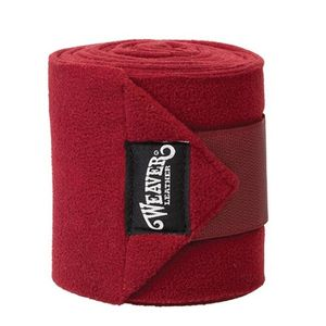 Weaver Fleece Polo Wraps - Burgundy