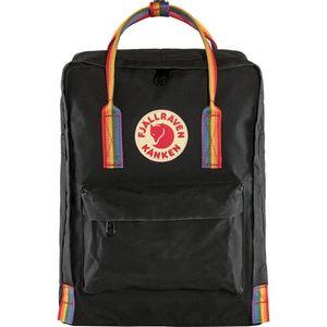 Fjallraven Kanken Rainbow Backpack - Black Rainbow