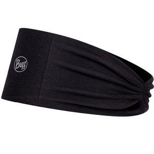 Buff Tapered Headband - Solid Black