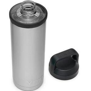 Yeti Rambler 18oz Bottle with Chug Cap - Stainless