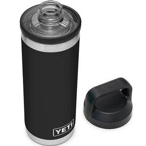 Yeti Rambler 18oz Bottle with Chug Cap - Black