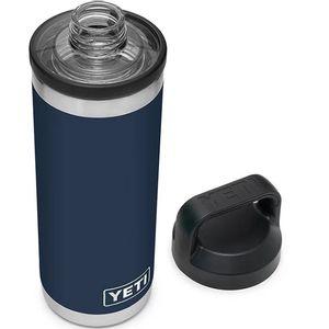 Yeti Rambler 18oz Bottle with Chug Cap - Navy
