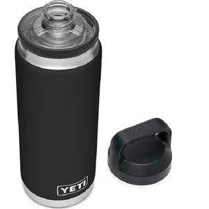 Yeti Rambler 26oz Bottle with Chug Cap - Black