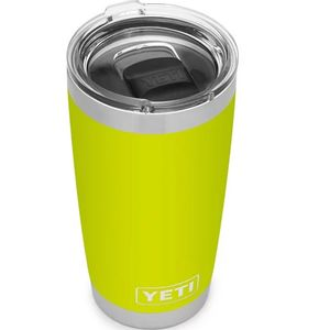 Yeti Rambler 20oz Tumbler with MagSlider Lid - Chartreuse