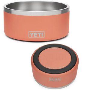 Yeti Boomer 8 Dog Bowl - Coral