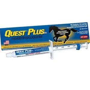Quest Plus (Moxidectin/Praziquantel) Dewormer (Equine use only)