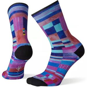 Smartwool Women's Curated Parchwork Print Crew Socks