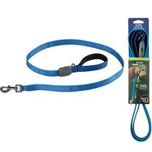 NiteDog Rechargeable LED Leash - Blue/Blue LED