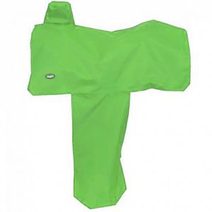 Nylon Western Saddle Cover - Neon Green