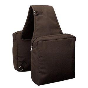 Weaver Nylon Western Saddle Bag 10x12 - Brown