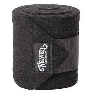 Weaver Fleece Polo Wraps - Black