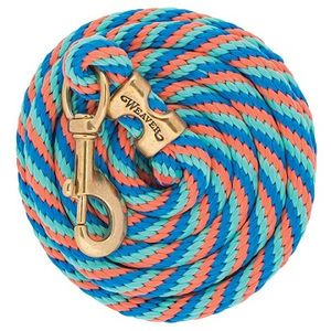 Weaver Poly Lead Rope with Solid Brass Snap - W18