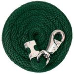 Weaver-Poly-Lead-Rope-with-Nickel-Plated-Bull-Snap---Hunter-136061