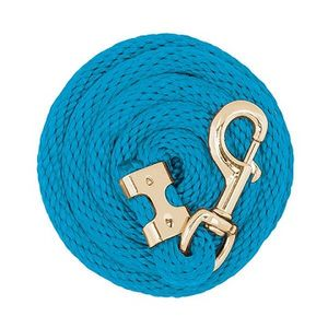 Weaver Value Lead Rope with Brass Plated Snap - Hurricane