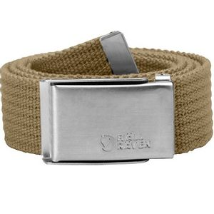 Fjallraven Unisex Merano Canvas Belt - Sand