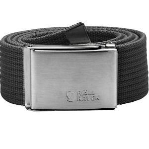 Fjallraven Unisex Canvas Belt - Dark Grey