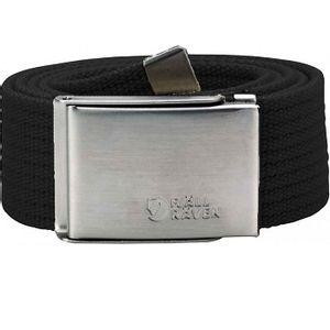 Fjallraven Unisex Canvas Belt - Black