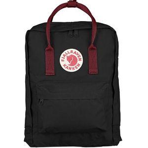 Fjallraven Kanken Backpack - Black/Ox Red