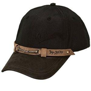 Outback Trading Equestrian Oilskin Cap - Black