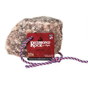 Redmond Rock Salt on a Rope